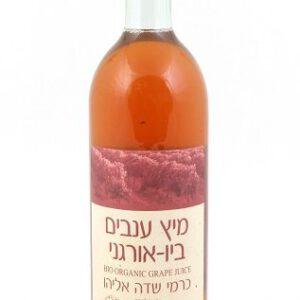 מיץ ענבים אורגני שדה אליהו